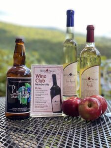 Apple Time at Seven Birches Winery