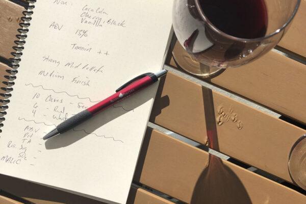 custom wine tasting notes