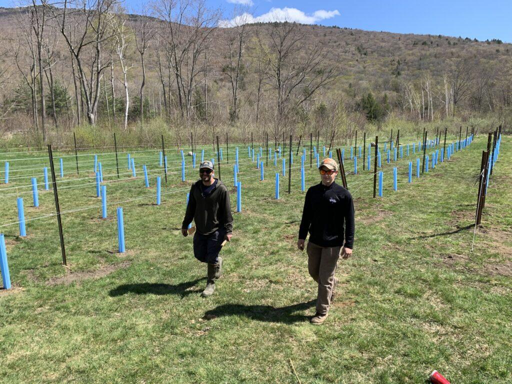 Nate & Brandon Finished Planting