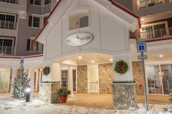 Seven Birches Winery is on the Snowmobile Trail System