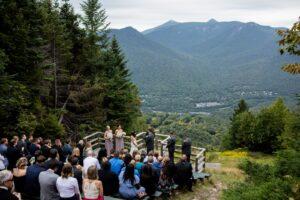 Loon Wedding View