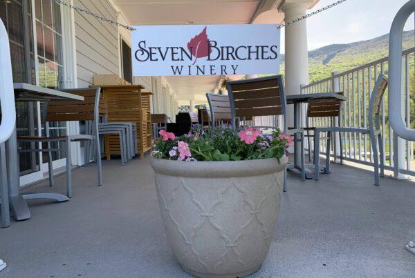The Veranda at Seven Birches Winery