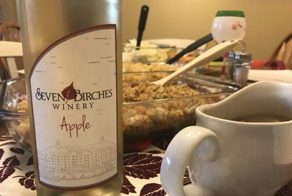 apple wine at thanksgiving