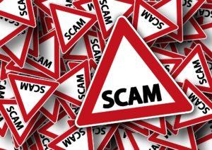 Scam Alert Domain Renewal
