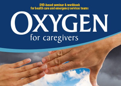 AiC Oxygen for Caregivers Sleeve, DVD Face, and Leader Guide