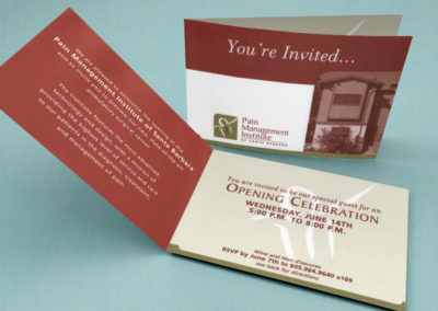 Pain Management Institute of Santa Barbara Logo and Collateral