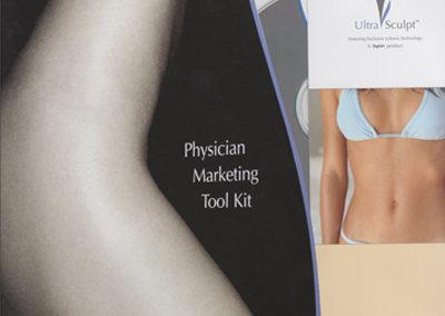 UltraSculpt Logo and Physician Marketing Tool Kit