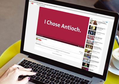 """Antioch University Santa Barbara """"I Chose Antioch"""" Campaign"""