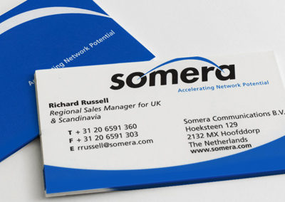 Somera Logo and Collateral