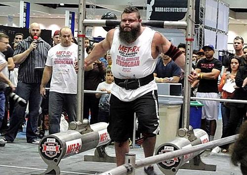 Robert Oberst, Professional Strongman