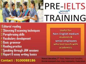 PRE-IELTS Training