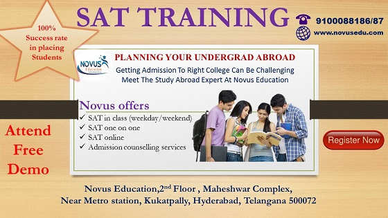 Best SAT Training In Kukatpally, KPHB & Hyderabad.