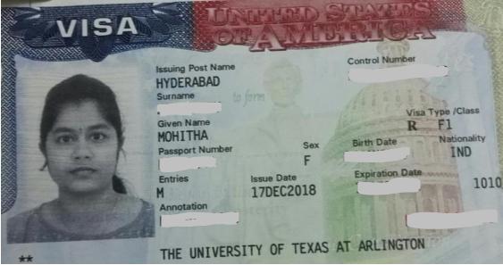 Mohitha student visa Novus Education