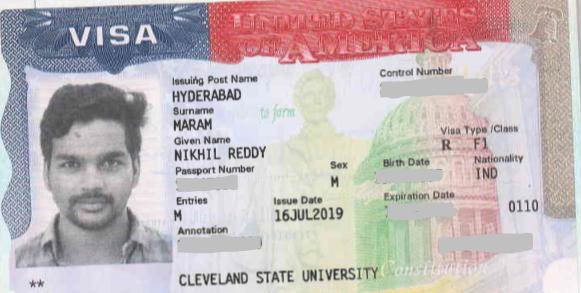 Nikhil student visa Novus Education