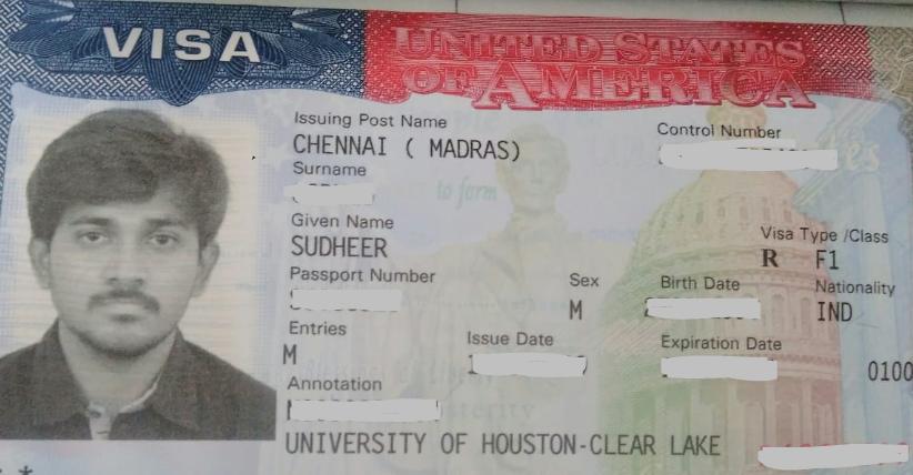 Sudheer student visa Novus Education