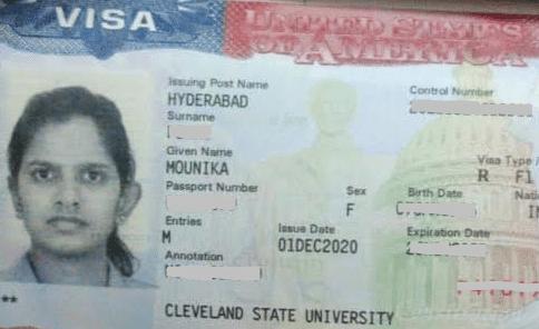 Mounika student visa Novus Education