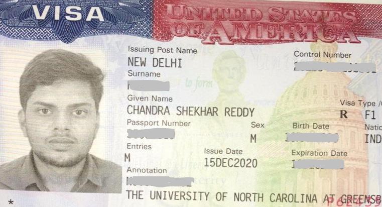 Chandra student visa Novus Education