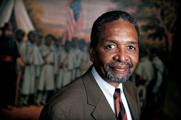 Frank Smith, co-founder and director of the African-American Civil War Museum on U Street in Washington.