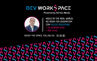 Agile in the real world: no room for dogmatism!