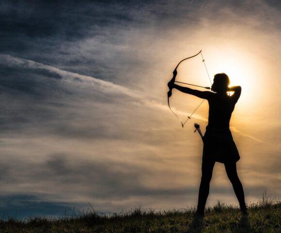 A sunlit archer.