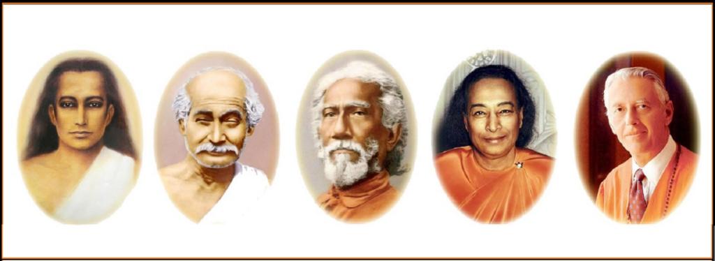 Kriya Yoga Lineage of Gurus