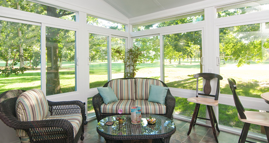 3 and 4 season Sunroom Abc Windows and More Toledo Ohio