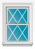 diamond grid replacement window pattern toledo ohio
