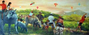 Kite Museum painting 1