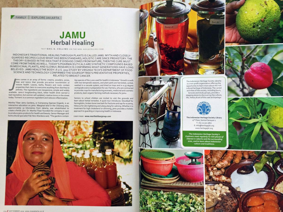 Jamu—Herbal Healing