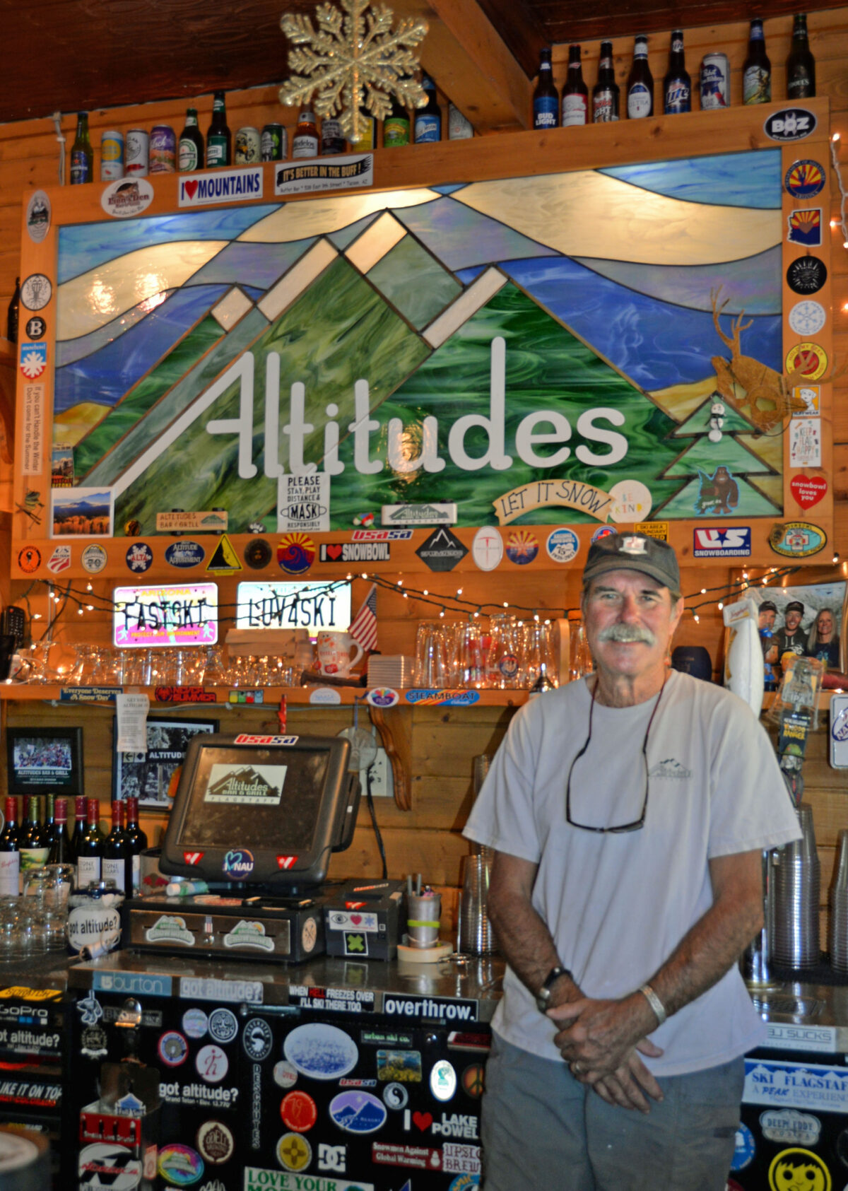 Celebrating 18 years, Altitudes Bar & Grill continues the tradition of comfort food, cold beer and live music