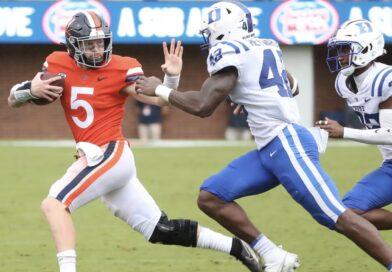 Virginia blows past Duke 48-0, moving to 5-2 on the season (10-16-21)