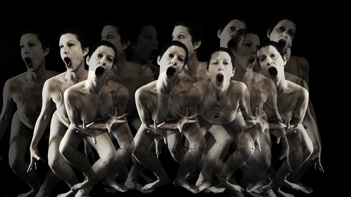Constance Humphries - Hole - Butoh Dance