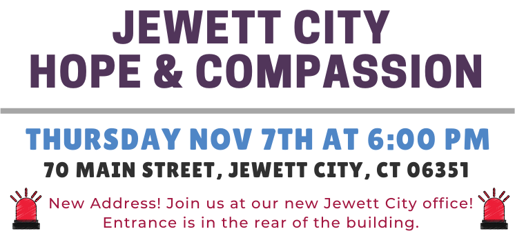 November 2019 - Jewett City Hope and Compassion Event Details