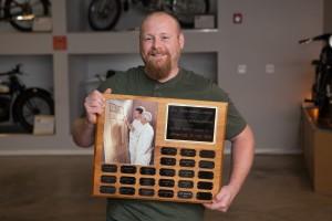 2017 James Barron Apprentice of the Year Keith Steinhauser.