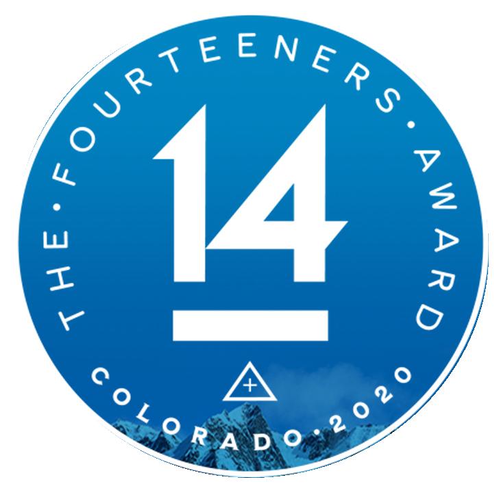 Fourteeners Award Colorado 2020