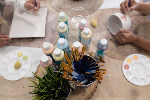 peinture ceramique