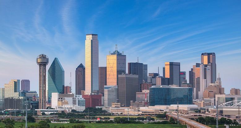 City at Dallas Texas