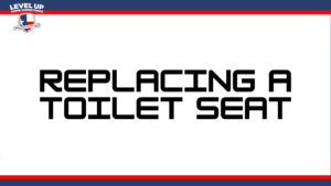 replacing a toilet seat