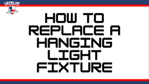how to replace a hanging light fixture