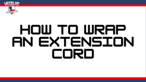 how to wrap an extension cord