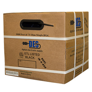 DES Reel in Box side view