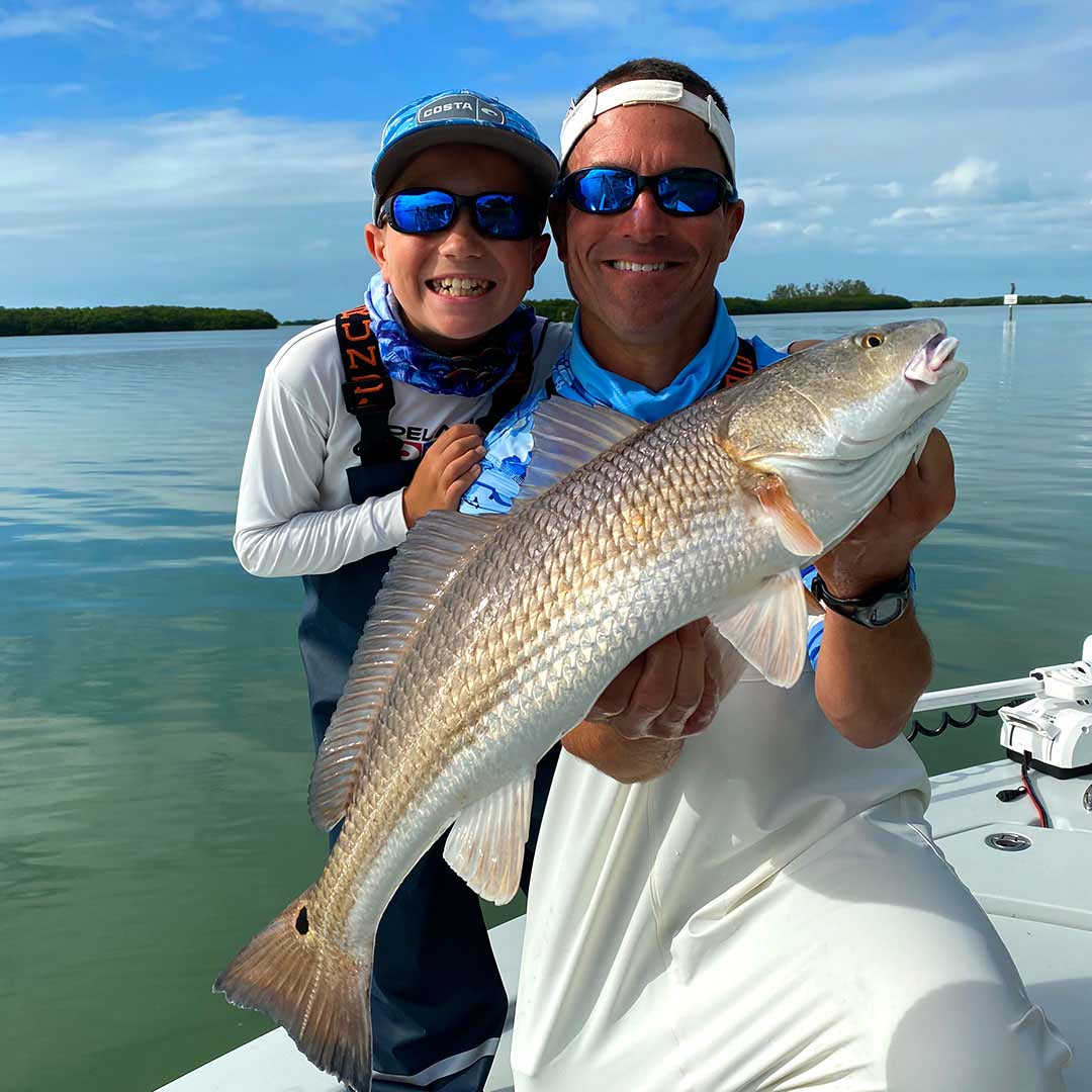 Catching a slew of redfish and snook can be an unforgettable experience.