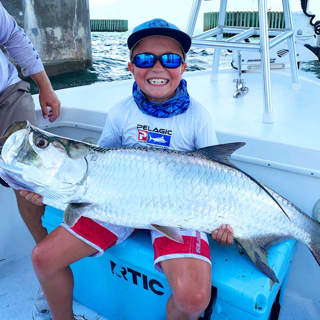 Looking for a summer break activity? Book a tarpon charter with InshoreAction charters!