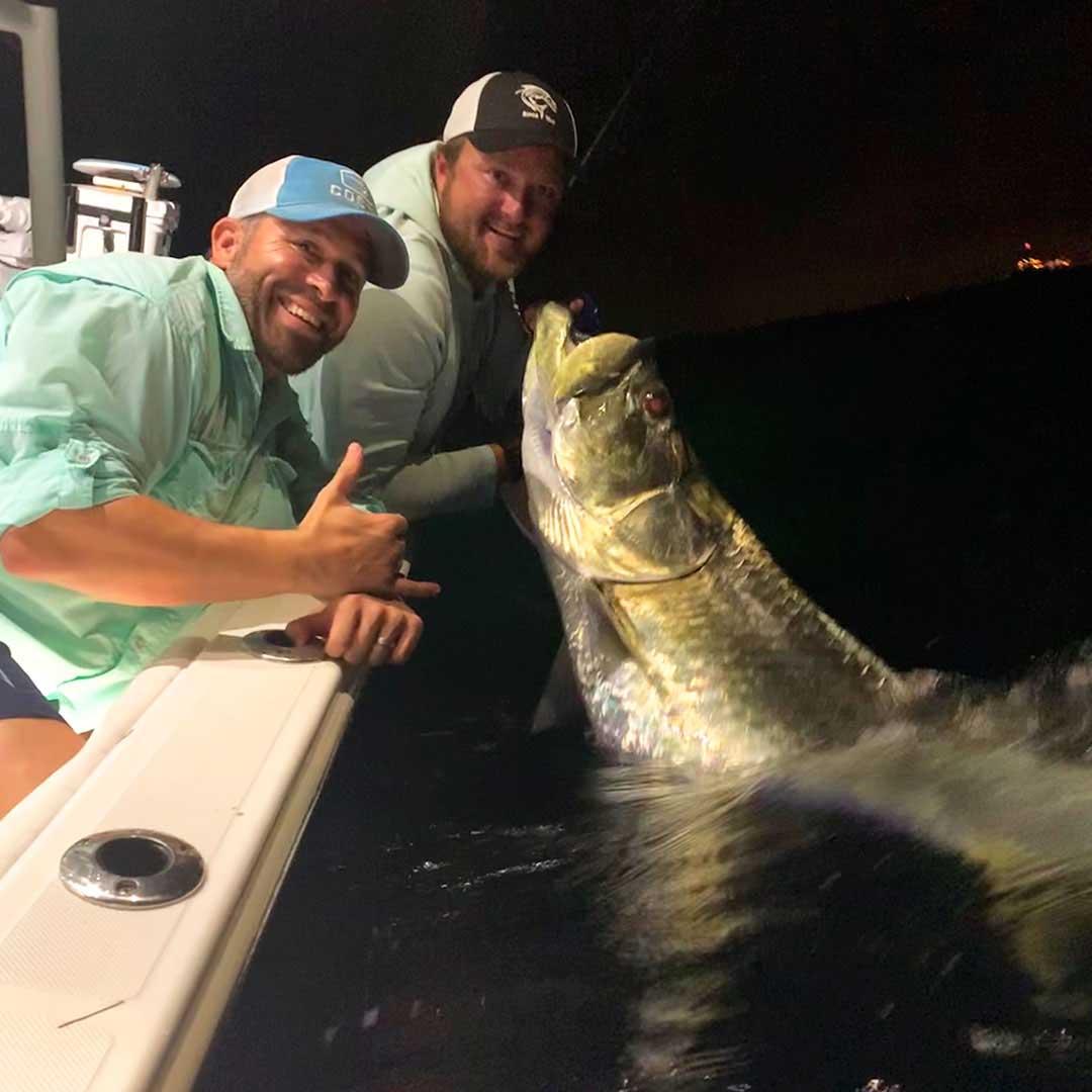 The Florida sun may be down, but we are still catching tarpon with Capt Matt Luttmann.