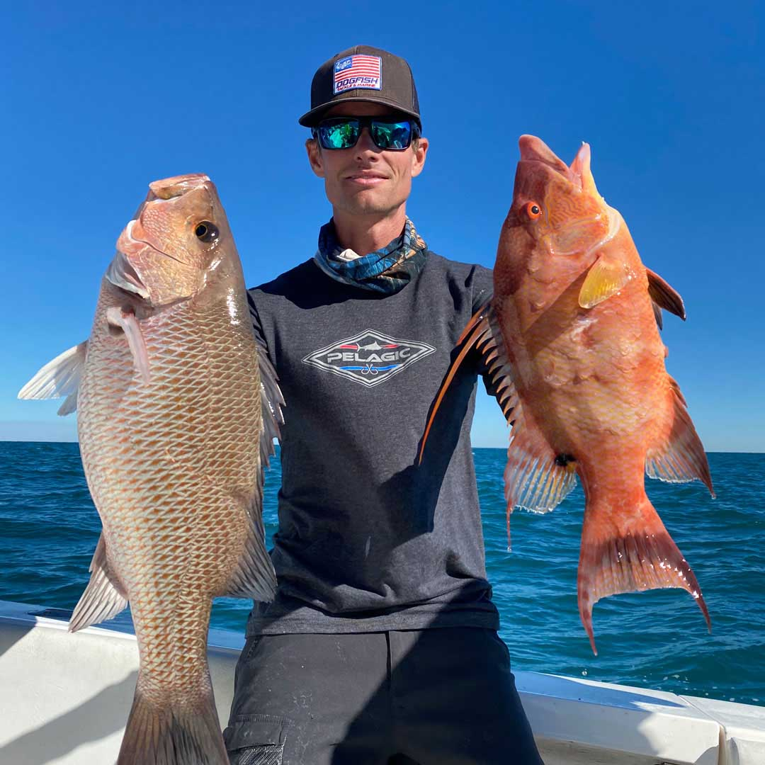 Hard to argue with these results, landed some great mangrove snapper and hogfish offshore.