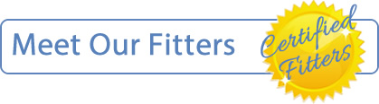 Meet our certified fitters