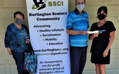 The Camisole Project gets a big boost from Burlington Senior Community Inc. and the community.