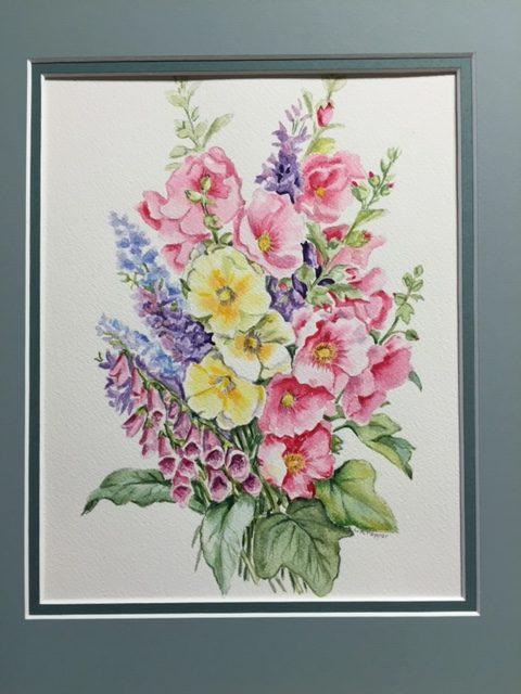 Linda Pepper: Watercolor Flowers