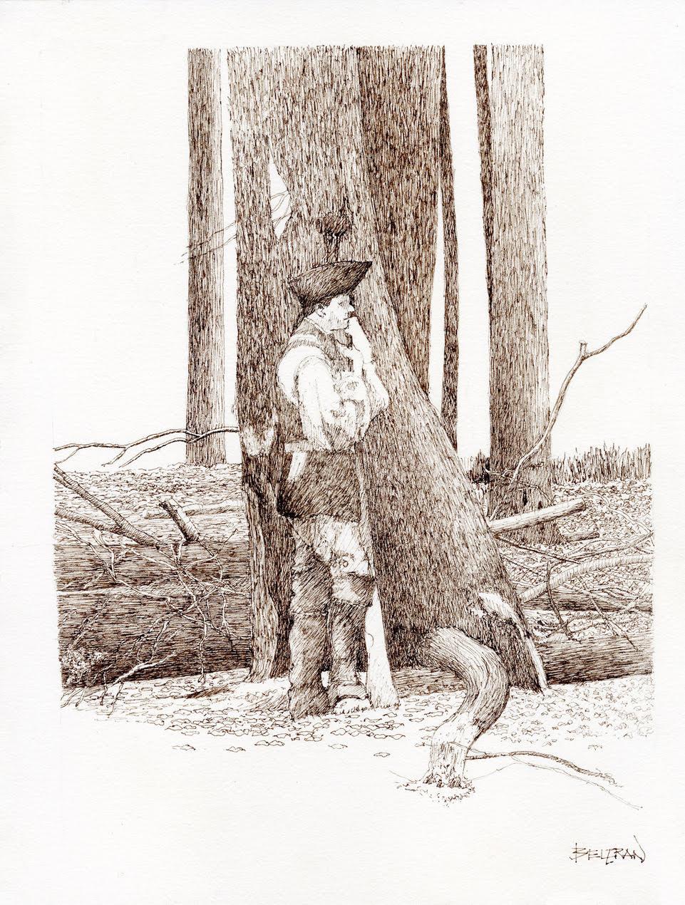 Victor Beltran: Sketching Cook Forest