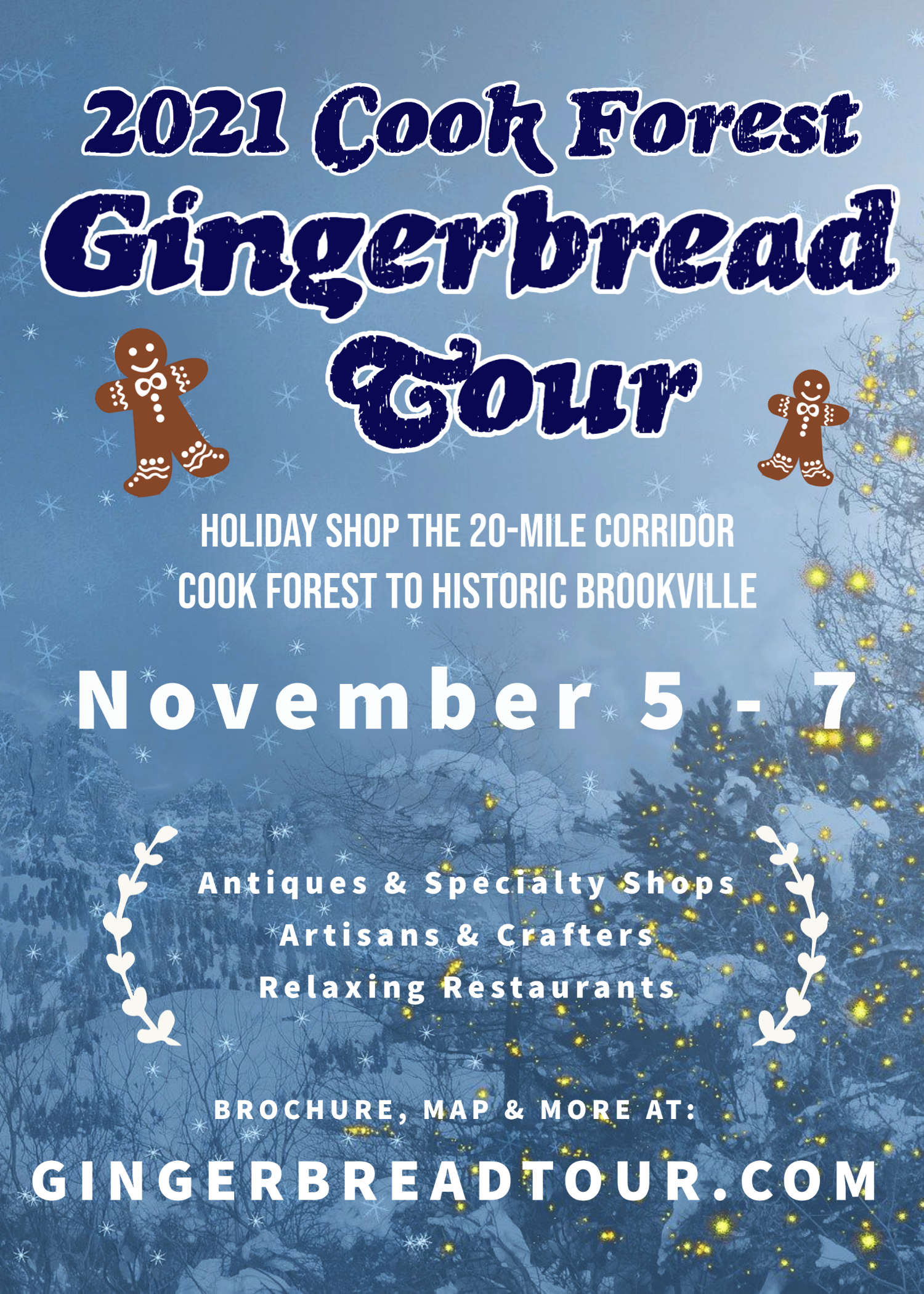 2021 Gingerbread Tour Flyer
